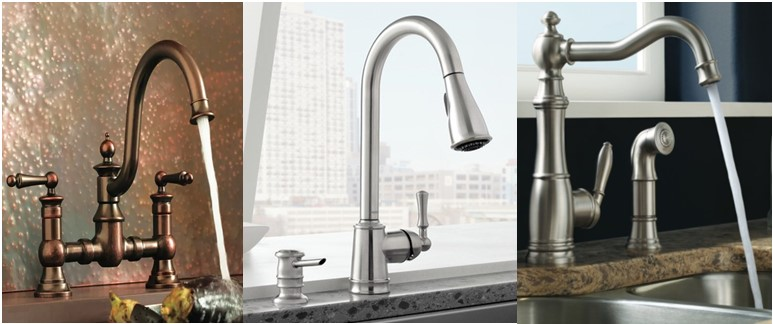 compressed spot b stainless n resist moen faucet with handle kitchen brecklyn pull depot home sprayer the single power in faucets clean out