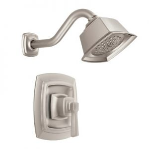 Moen Boardwalk Brushed Nickel Shower Faucet